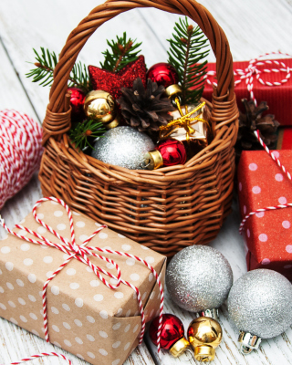 Christmas 2020 Gifts Wallpaper for 480x800