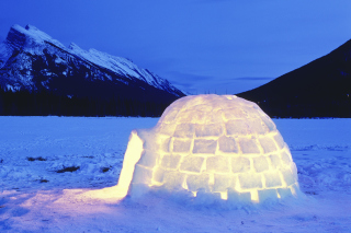 Igloo Wallpaper for Android, iPhone and iPad