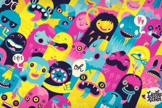 Oh Monsters Picture for Android, iPhone and iPad