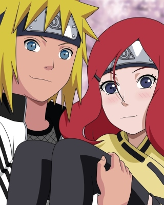 Minato Namikaze And Kushina Uzumaki Wallpaper for 480x640