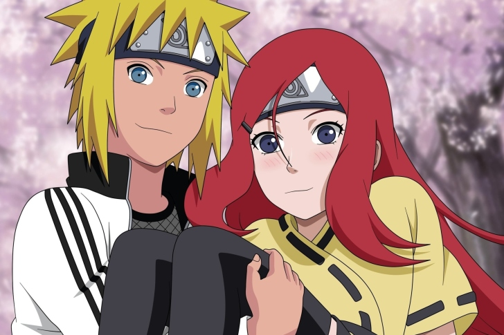 Das Minato Namikaze And Kushina Uzumaki Wallpaper