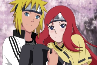 Minato Namikaze And Kushina Uzumaki Background for Android, iPhone and iPad