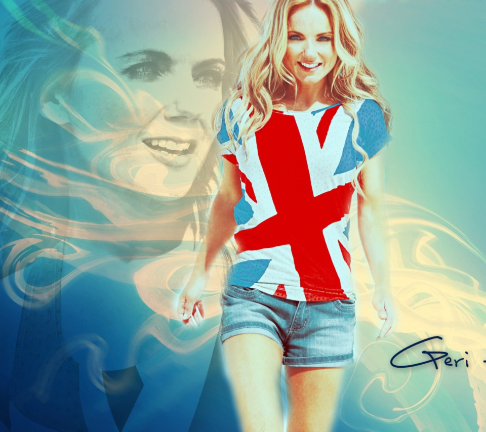 Geri Halliwell wallpaper 960x854