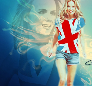 Free Geri Halliwell Picture for iPad mini
