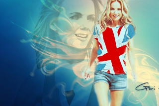 Geri Halliwell Background for Samsung Galaxy Note 2 N7100