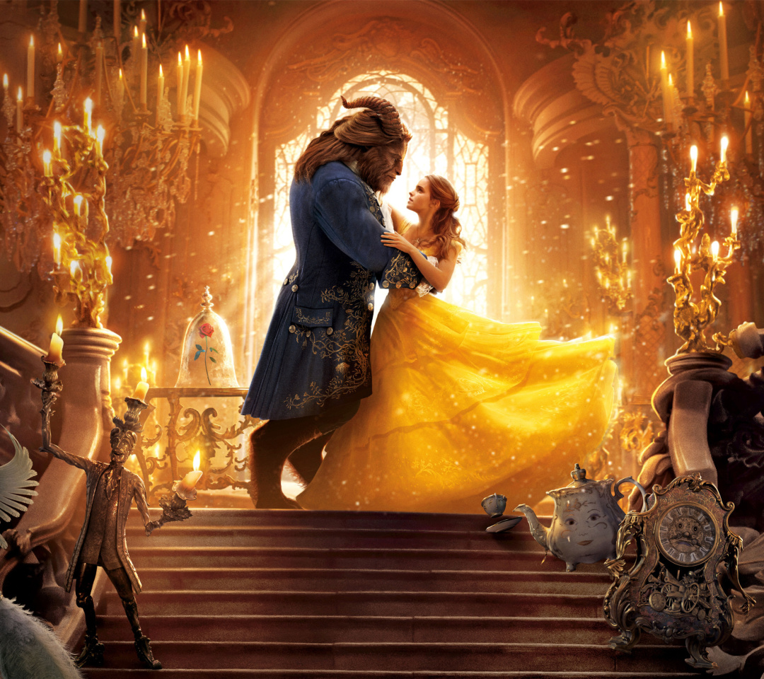 Screenshot №1 pro téma Beauty and the Beast HD 1080x960