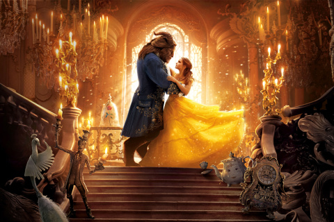 Screenshot №1 pro téma Beauty and the Beast HD 480x320