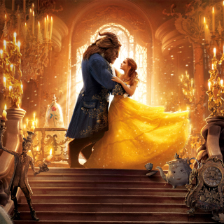 Beauty and the Beast HD sfondi gratuiti per 1024x1024