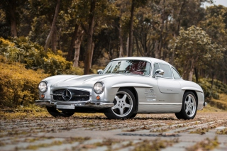 Free Mercedes Benz 300SL W198 Picture for Android, iPhone and iPad
