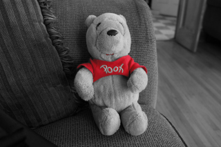 Dear Winnie The Pooh Background for Android, iPhone and iPad