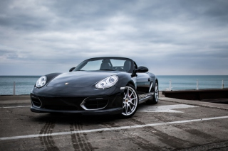 Free Porsche Boxster Spyder Picture for Sony Xperia Tablet S
