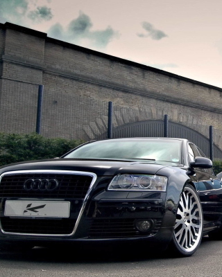 Free Audi A8 and Bentley, One Platform Picture for iPhone 6 Plus