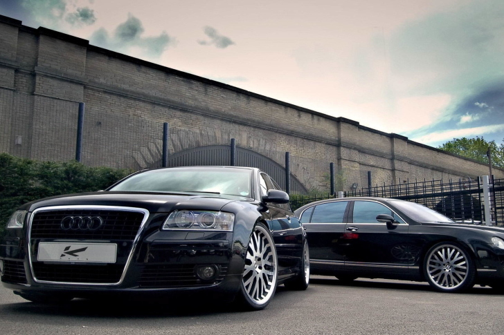 Audi A8 and Bentley, One Platform wallpaper