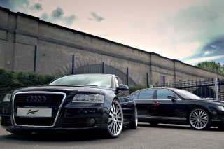 Audi A8 and Bentley, One Platform Wallpaper for Android, iPhone and iPad