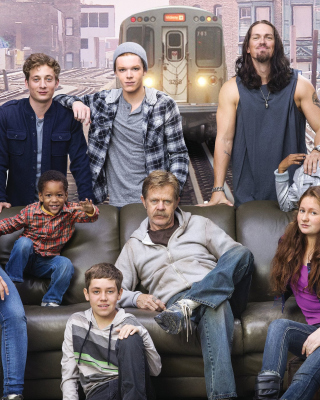 Shameless TV Series Background for Nokia Asha 306