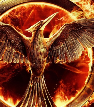 The Hunger Games Mockingjay - Obrázkek zdarma pro iPhone 6 Plus