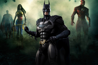 Injustice Gods Among Us - Batman papel de parede para celular para 1600x1200