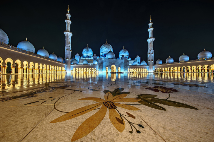 Abu Dhabi Islamic Center for Muslims wallpaper