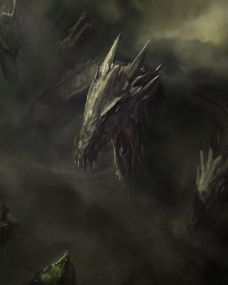 Monster Hydra Background for iPhone 6 Plus