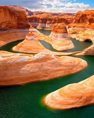 Grand Canyon Colorado River Wallpaper for Nokia Asha 311