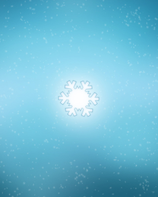 Snowflake Picture for 768x1280