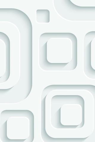 3D Effect White Pattern para Huawei G7300