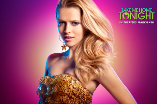 Teresa Palmer in Take Me Home Tonight Picture for Android, iPhone and iPad