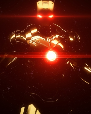 Marvel Iron Man Wallpaper for Nokia C1-01