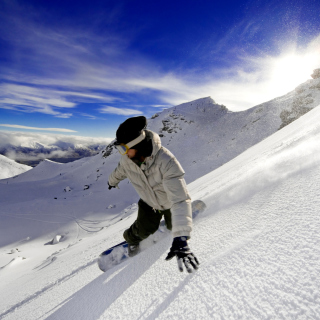 Outdoor activities as Snowboarding sfondi gratuiti per iPad mini