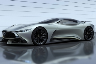 Infiniti Concept Vision Gran Turismo Background for Android, iPhone and iPad