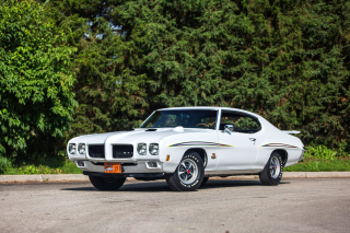 1970 Pontiac GTO Background for Android, iPhone and iPad