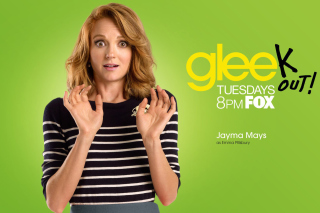 Jayma Mays from Glee Background for Android, iPhone and iPad