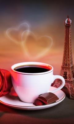 Romantic Coffee for Samsung SGH-T528G