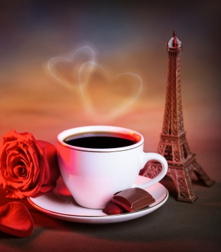 Free Romantic Coffee Picture for Nokia C1-01