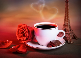 Romantic Coffee Wallpaper for Android, iPhone and iPad