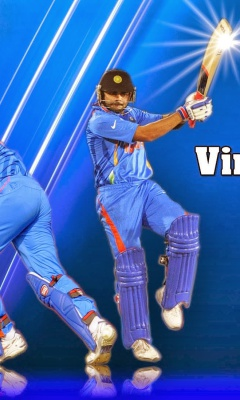 Screenshot №1 pro téma Virat Kohli and MS Dhoni 240x400