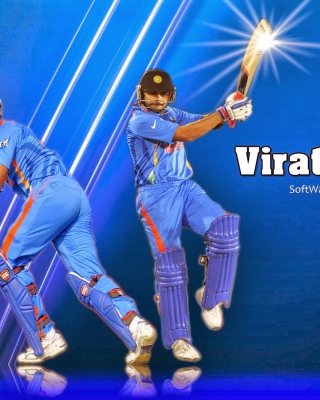 Virat Kohli and MS Dhoni sfondi gratuiti per iPhone 5