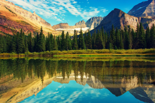Glacier National Park in Montana Background for Android 480x800