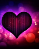 Neon Heart wallpaper 128x160