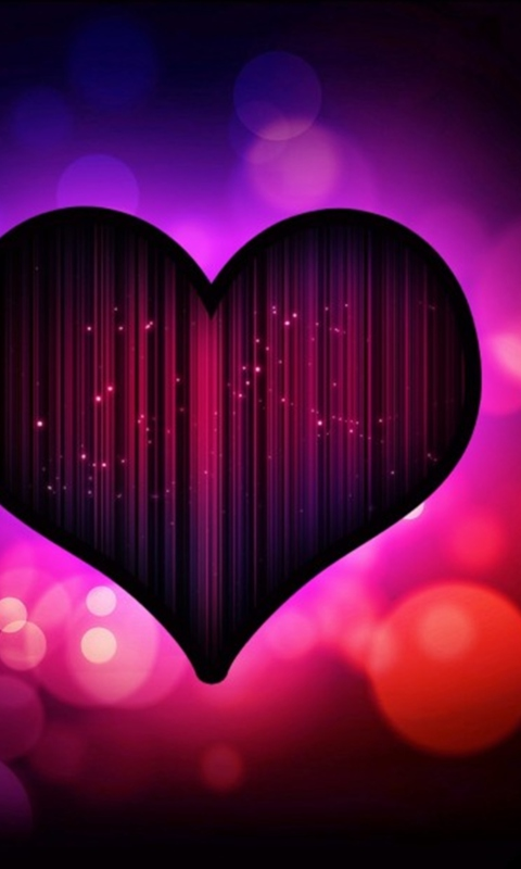Neon Heart per Nokia Lumia 800