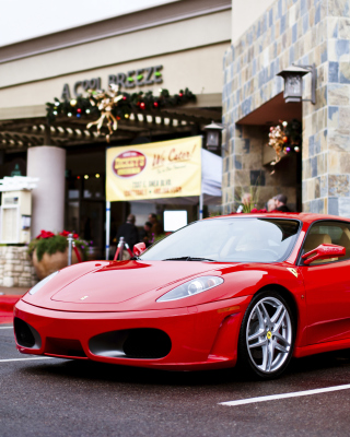 Ferrari F430 in City Background for Nokia 5800 XpressMusic