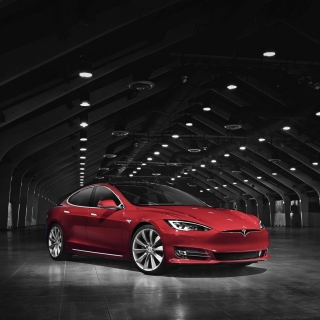 Tesla Model S Wallpaper for iPad