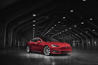 Tesla Model S Picture for Android, iPhone and iPad