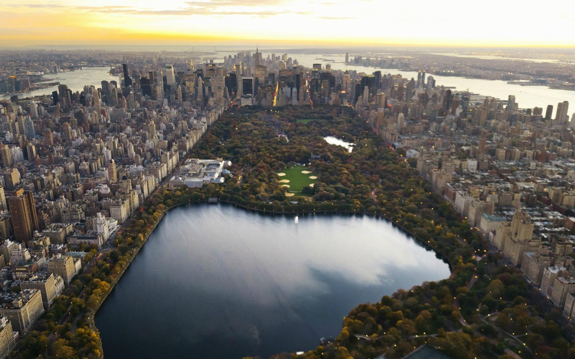 Central Park para Widescreen Desktop PC 1920x1080 Full HD