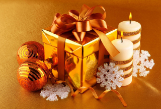 Christmas Gift Box Wallpaper for Fullscreen Desktop 1024x768