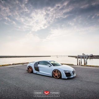 Hamana Audi R8 Background for iPad