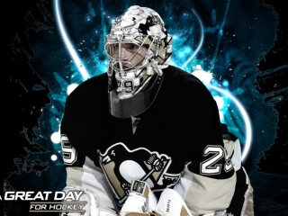 Pittsburgh Penguins Marc Andre Fleury Picture for Android, iPhone and iPad