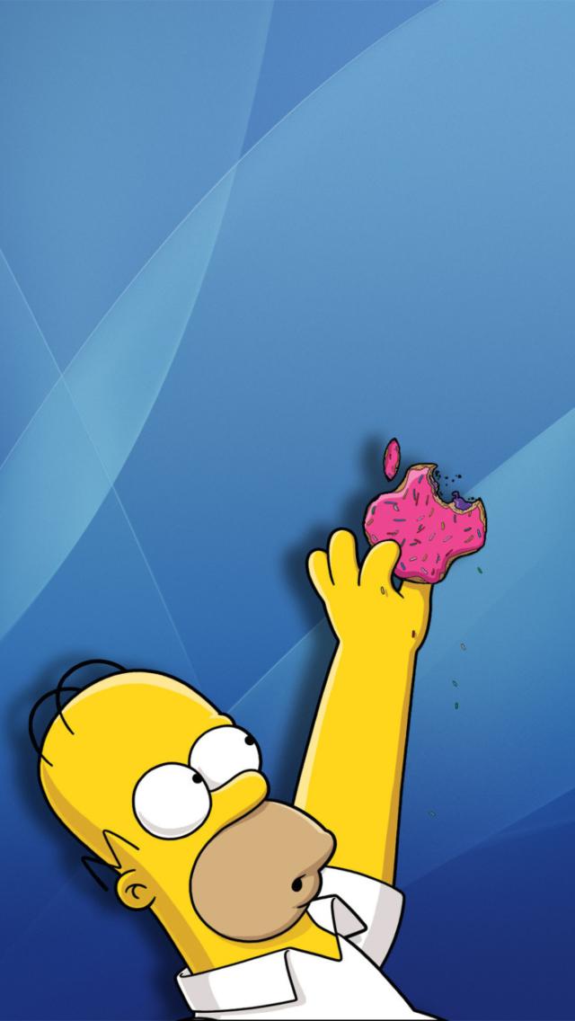 Гомер симпсон картинки на телефон