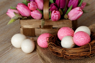 Pink Easter Picture for Android, iPhone and iPad