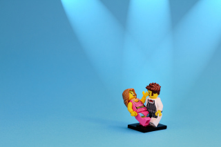Dance With Me Lego Background for Android, iPhone and iPad
